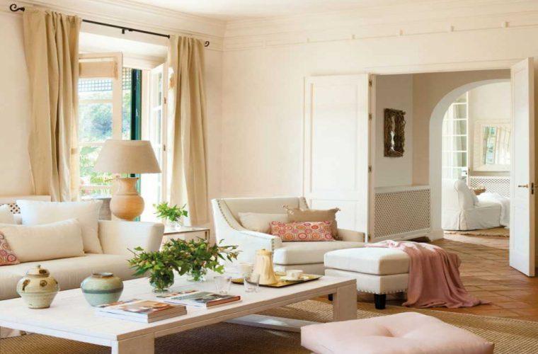 El Mueble Decoracion Salon Con Complementos Rosas Modelos Europeo perteneciente a Muebles De Salon Decoracion - PELURED